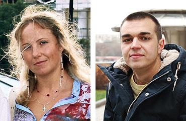 Наталья Гончарова и Илья Вологжанин