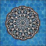 История иранской плитки
