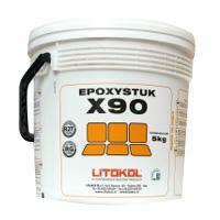 Двухкомпонентная кислотостойкая затирка Epoxystuk X90 Litokol