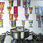 Фартук для кухни. Из чего сделать фартук? Виды фартуков, сравнение, обзор достоинств и недостатков