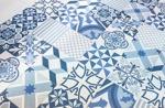Бело-синие пэчворки. Тенденции 2014. Вторая часть