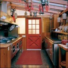 Полуазиатский дизайн кухни