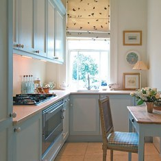 Дизайн маленькой кухни. Фотография