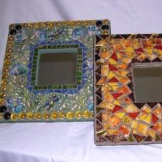 Самодельная рамка для зеркала