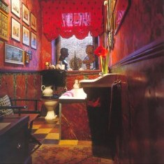 Незабываемый интерьер ванной комнаты