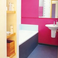 Простой дизайн ванной