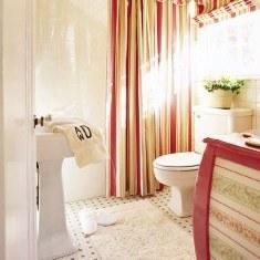 Ванная в ткани
