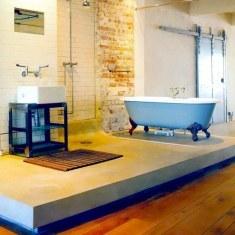 Дизайн огромной ванной комнаты
