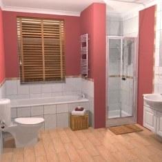 Дизайн ванной комнаты для скромного семьянина