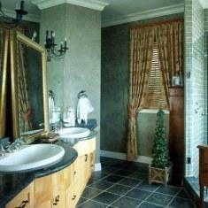 Дизайн проходной ванной комнаты