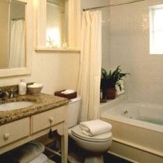Дачный вариант ванной комнаты