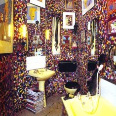 Экстравагантный дизайн ванной комнаты