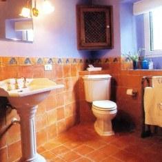 Туалет в стиле кантри