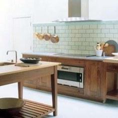 Простой дизайн кухни . Почти без удобств, зато красиво