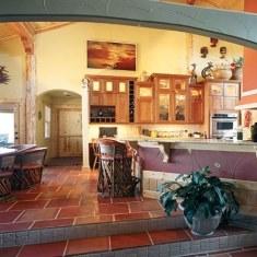 Дизайн обеденной зоны в загородном доме