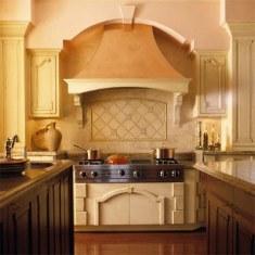 Дизайн кухни с классическим узором