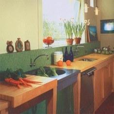 Дизайн рабочей зоны для кухни