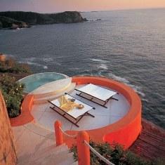 Дизайн бассейна у моря