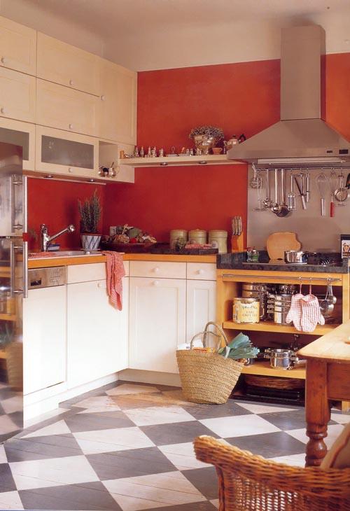 Дизайн симпатичной кухни