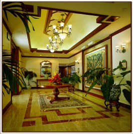 Дизайн холла в гостинице