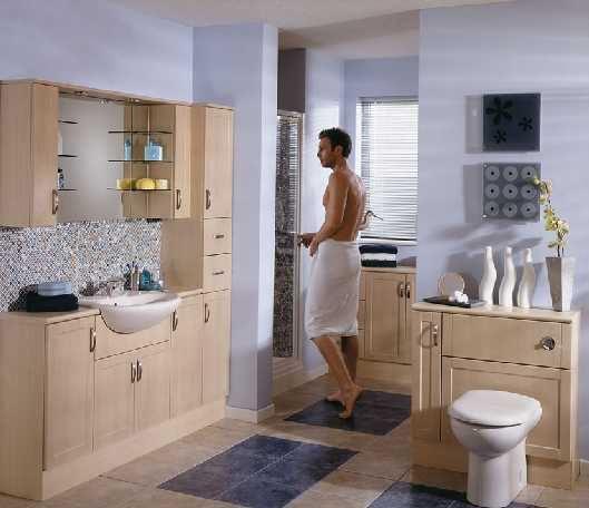 Фотография интерьера ванной комнаты