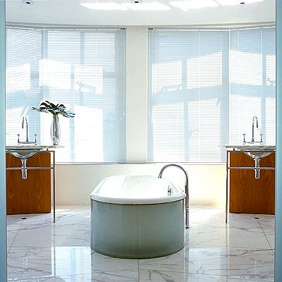 Интерьер ванной от известного дизайнера