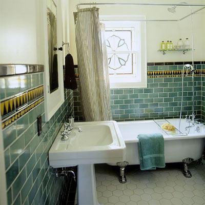Ванная комната по английским мотивам