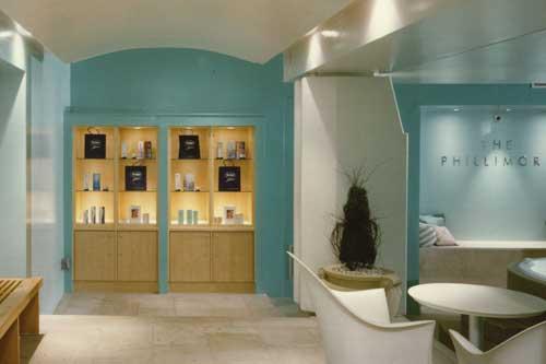 Дизайн холла цвета морской волны
