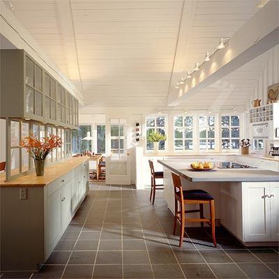 Дизайн бесконечной кухни