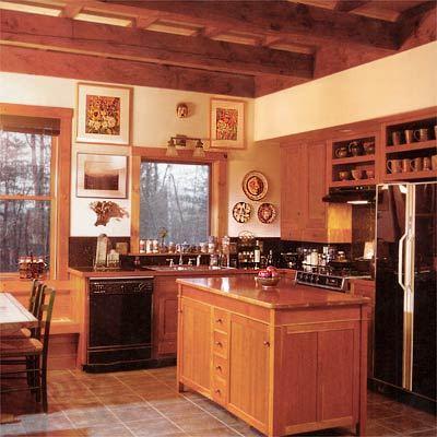Дизайн кухни с островной хоной