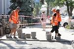 Тротуарная плитка покрывает все больше улиц Тулы