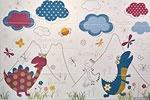 Детская плитка - новые рисунки для ванных и детских садов