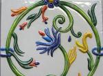 Four Seasons - Изразцы ручной работы
