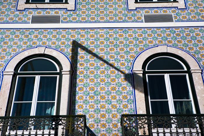 Фасад дома в престижном районе