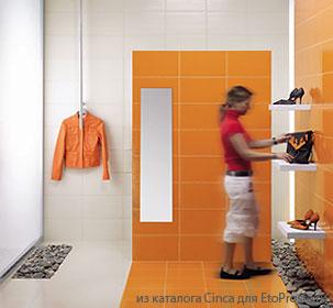 Плитка Cinca Dido - сочетание ярких цветов позволяет экономить при ремонте