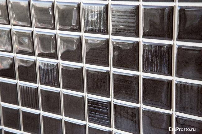 Плитка под мозаику спрорезями