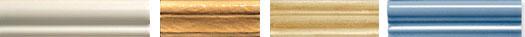 Варианты карнизов из плитки