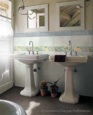 Дизайн ванной комнаты. Эконом вариант