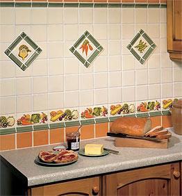 Kitchen Tiles Fruit Design kitchen backsplash design. which tile is best?