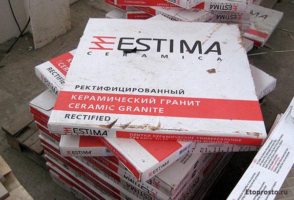 Ректифицированный керамогранит Estima