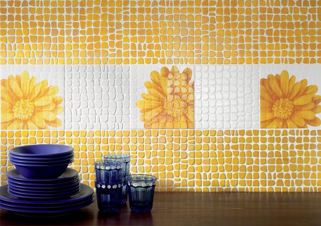 Плитка под мозаику на кухню