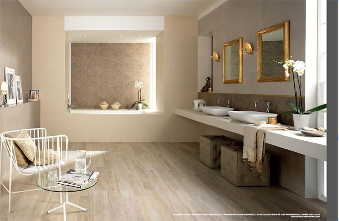 интерьер ванной комнаты. Новая коллекция плитки от Italgraniti