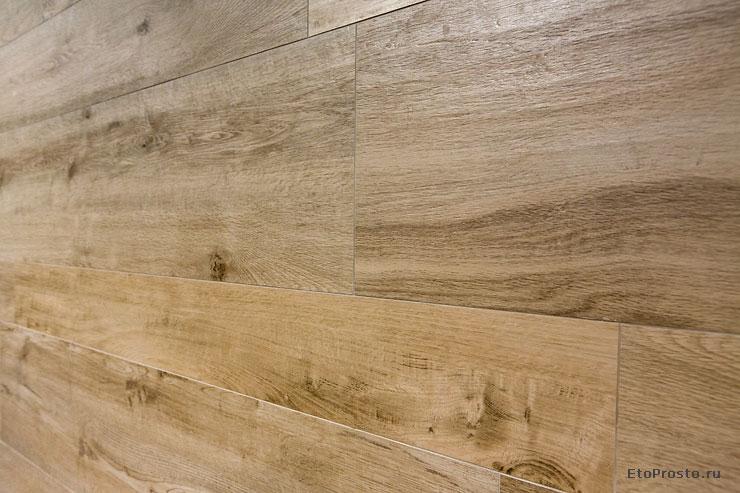 Cersaie Photo Review Imitation Wood Tile