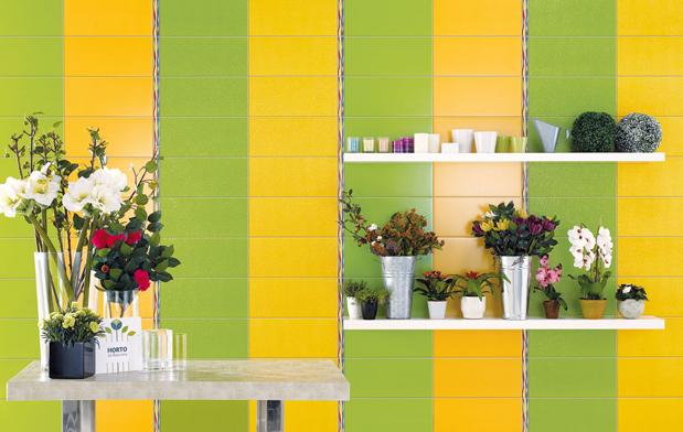 Плитка Cinca Mirage - сочетанием цветов можно обойтись без декоров