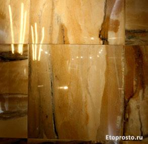 Хорошие эмали при использовании глянцевого керамогранита создают ощузение глубины и усиливают оттенки цвета